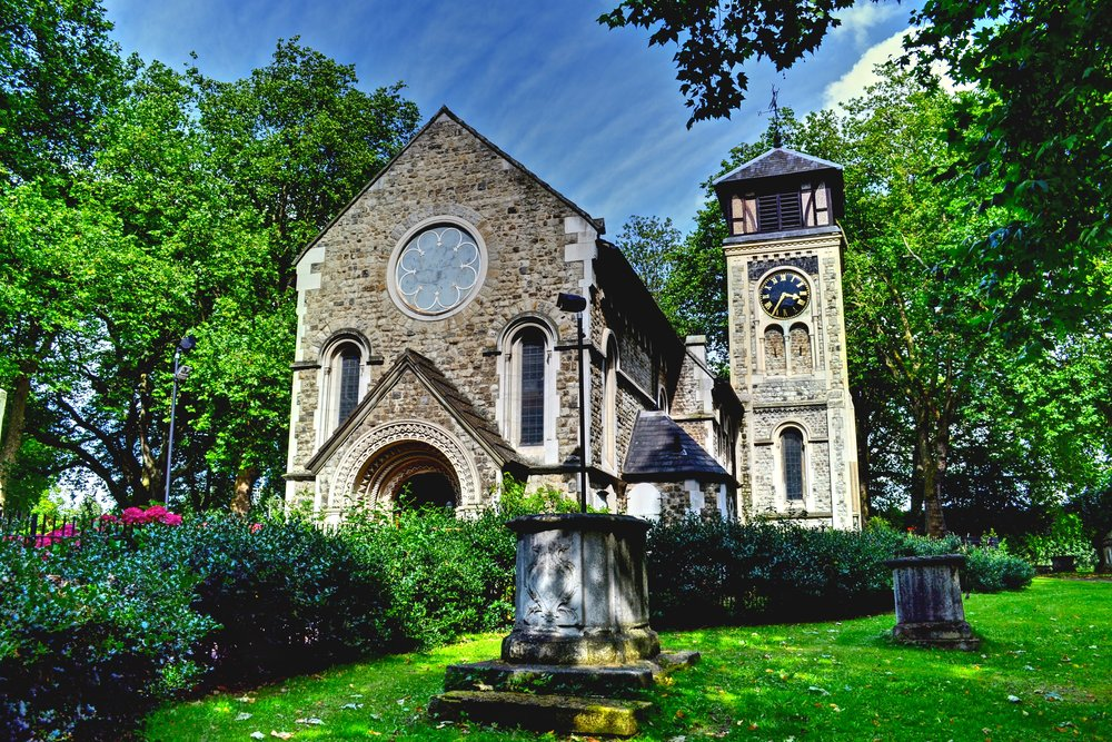 Old Church of St. Pancrase