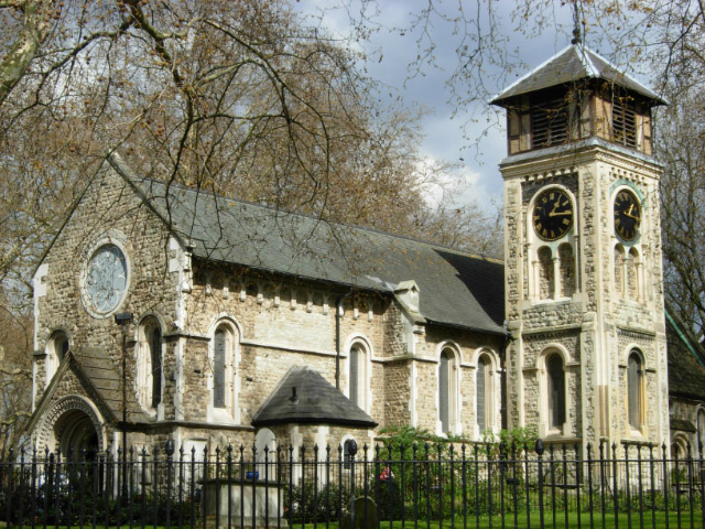 the oldest church in London