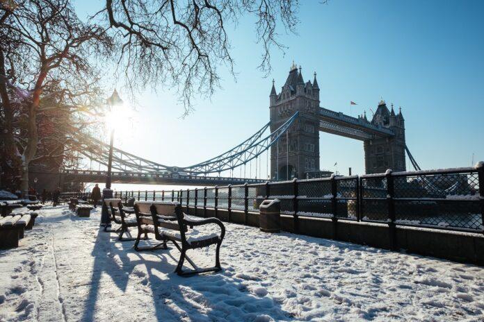London winter fashion