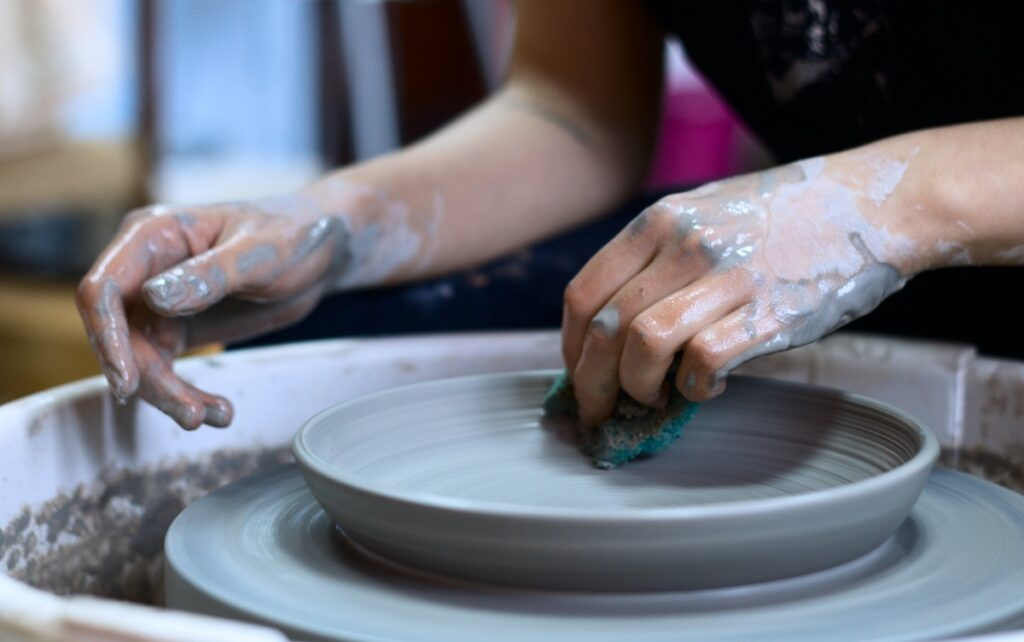 pottery classes in London